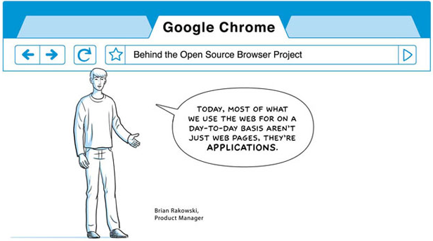 Google Chrome Design Comic